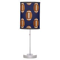 Football Balls Sports Desk Lamp