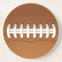 Football Balls Sports Drink Coaster