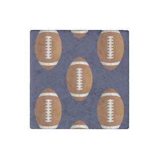 Football Balls Sports Stone Magnet