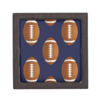 Football Balls Sports Jewelry Box