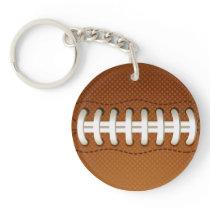 Football Balls Sports Keychain