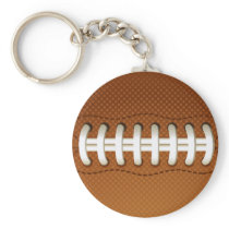 Football Balls Sports Keychain