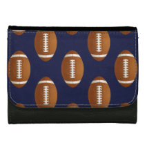 Football Balls Sports Leather Wallet For Women