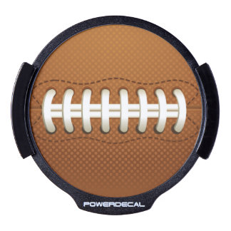 Football Balls Sports LED Car Decal