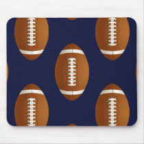 Football Balls Sports Mouse Pad