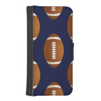 Football Balls Sports Wallet Phone Case For iPhone SE/5/5s