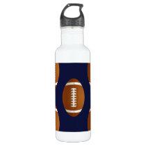 Football Balls Sports Water Bottle