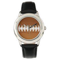 Football Balls Sports Wristwatches