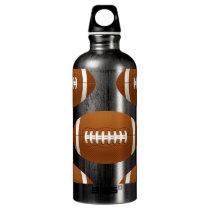 football balls water bottle