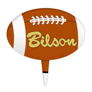 Football Baseball Softball  Sports Destiny Gifts Cake Topper