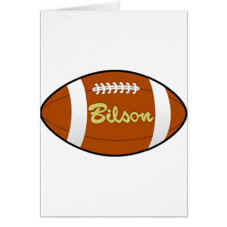 Football Baseball Softball  Sports Destiny Gifts Greeting Card