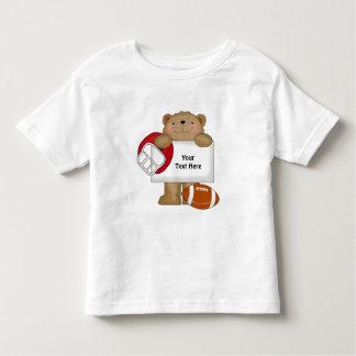 Football Bear Bulletin (customizable) Toddler T-shirt