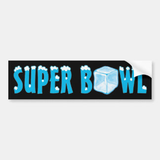 Football Big Game Car Bumper Sticker