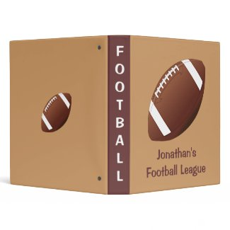 Football Binder