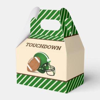 Football Birthday Party Favor Box