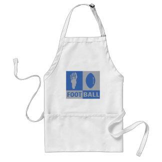 football bizarre icon adult apron