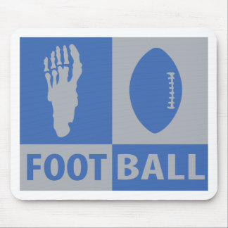 football bizarre icon mouse pad