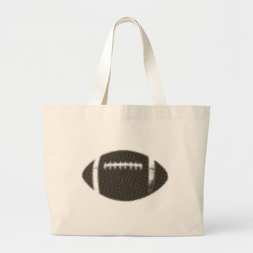 Football Black and Gold Bags