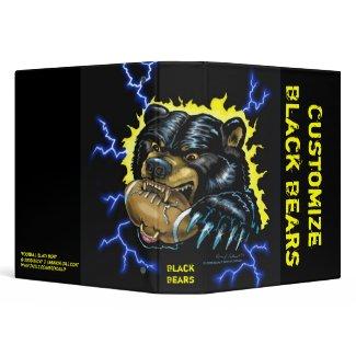 Football Black Bear binder (version 2) binder