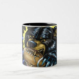 Football Black Bear mug (version 2)