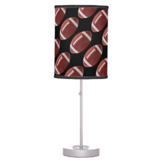 Football - Black Table Lamp
