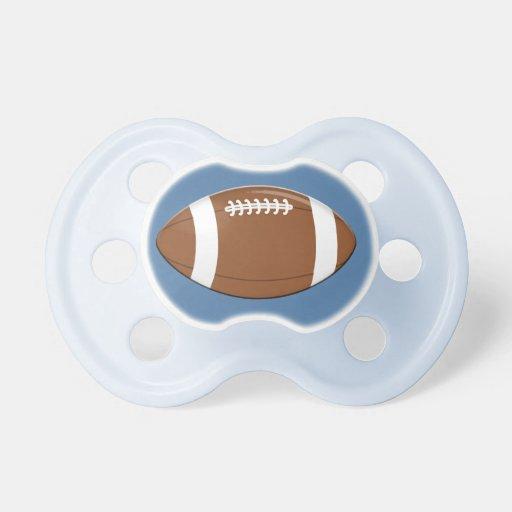 Football BooginHead Pacifier