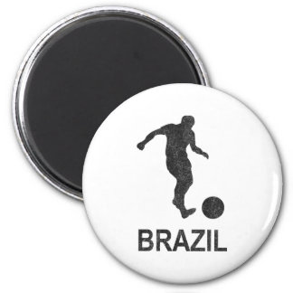 Football Brazil Magnet