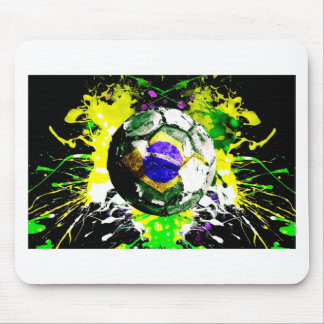football Brazil Mouse Pad