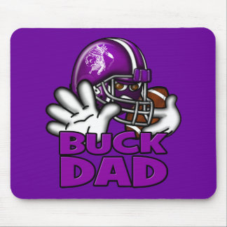 Football Buck Dad Mouse Pad