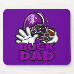 Football Buck Dad Mouse Pads