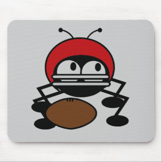 Football Bug T-shirts and Gifts Mouse Pad