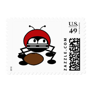 Football Bug T-shirts and Gifts Stamps