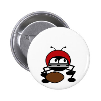 Football Bug Tshirts and Gifts Button