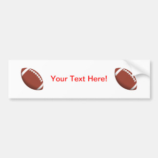 Football! Bumper Sticker