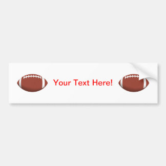 Football! Car Bumper Sticker