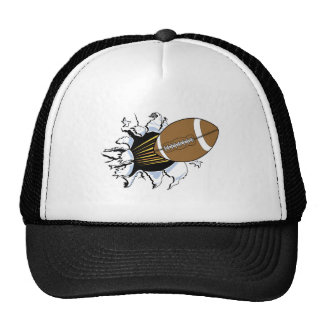 Football Burst T-shirts and Gifts Mesh Hat