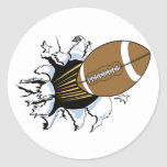 Football Burst T-shirts and Gifts Sticker