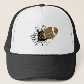 Football Burst T-shirts and Gifts Trucker Hat