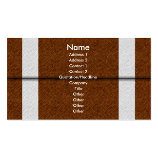 Football Double-Sided Standard Business Cards (Pack Of 100)