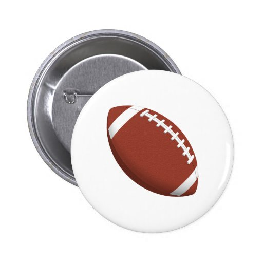 Football! Pinback Button