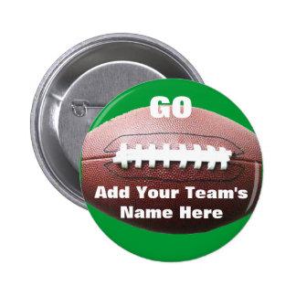 Football Pinback Buttons