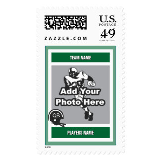 Football Card Style Stamps
