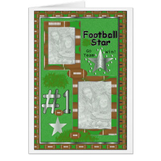 Football Card Template-Insert personal photo