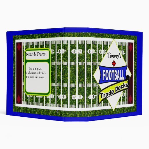 football cards 3 ring binders