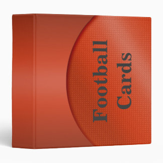 Football Cards Binder