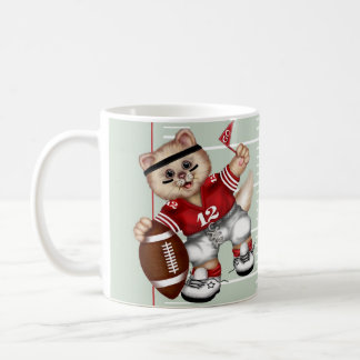 FOOTBALL CAT Morphing Mug 11 onz