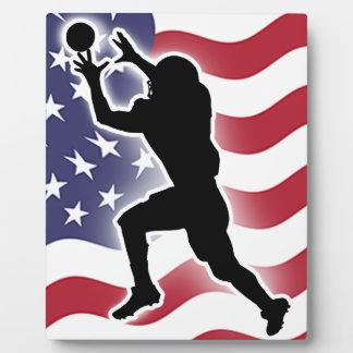 Football - Catch&Score Plaque