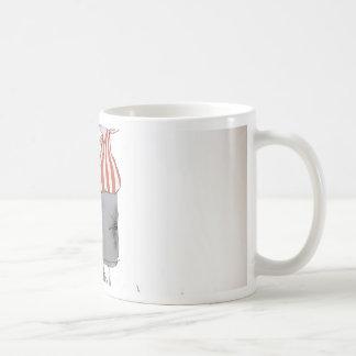 football centre forward red white stripes coffee mug
