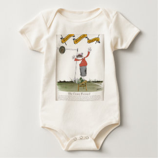 football centre forward reds baby bodysuit