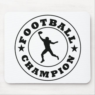 Football Champion Mousepads